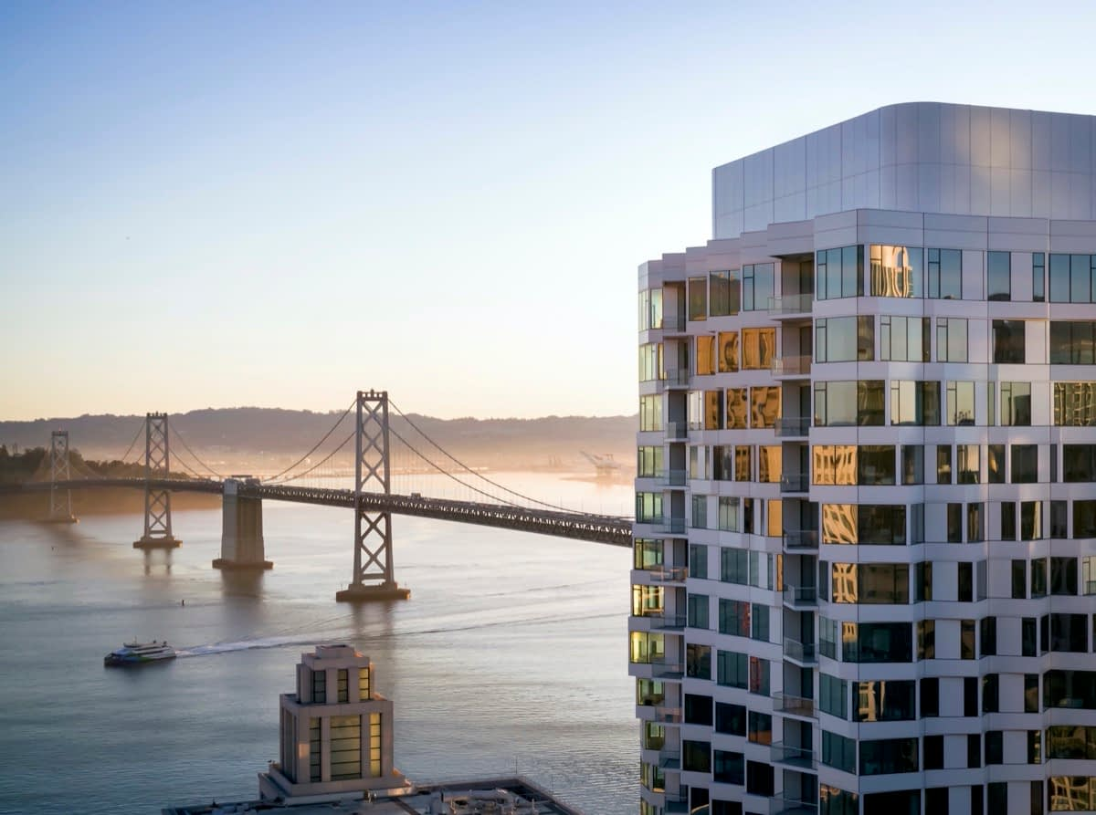 Mira Welcomes New Residents Into Its 400-foot Twisting Tower