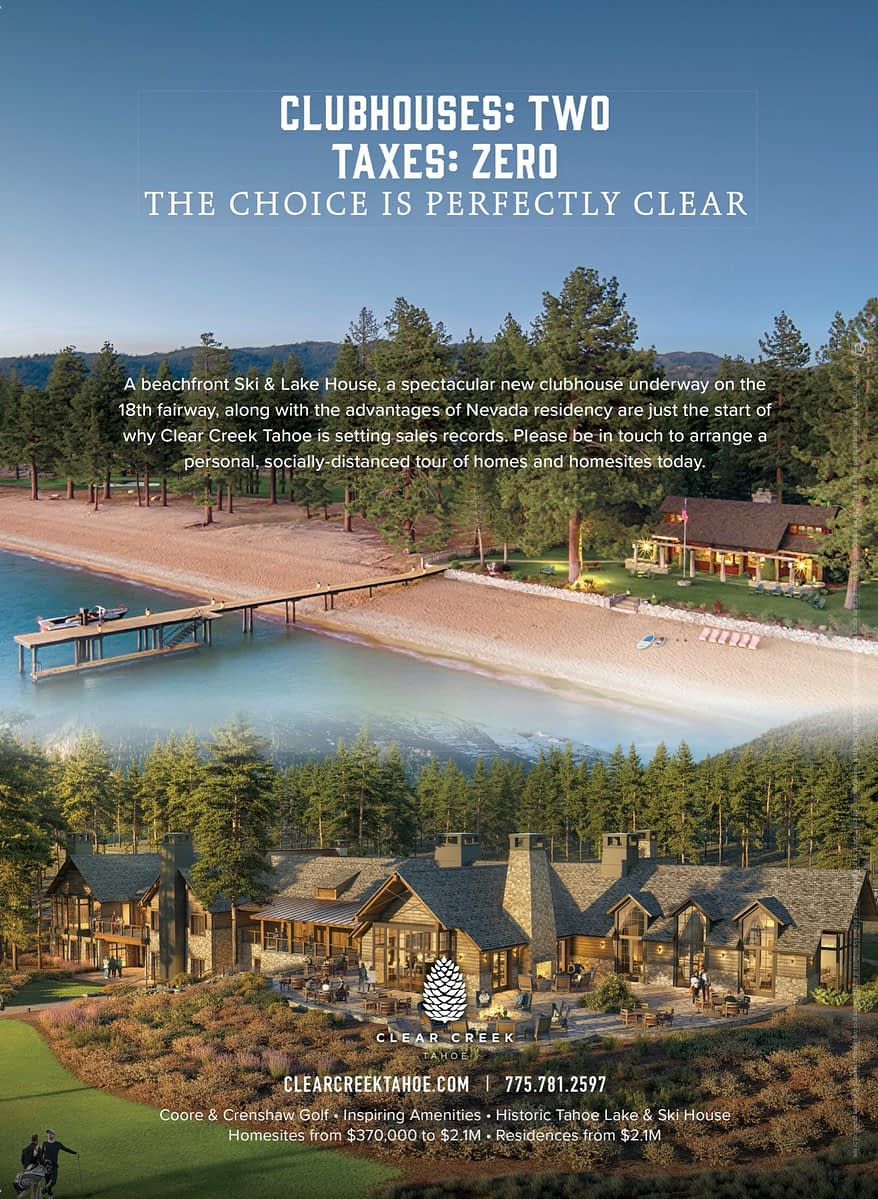 A Visit To Clear Creek Tahoe
